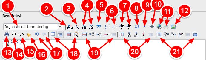 html kode mellemrum